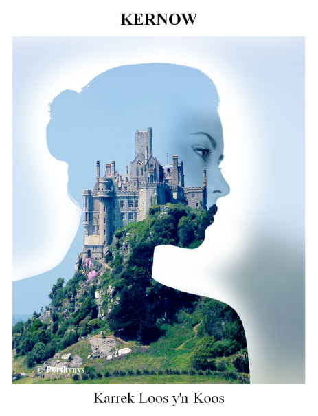 St Michaels Mount Double Exposure